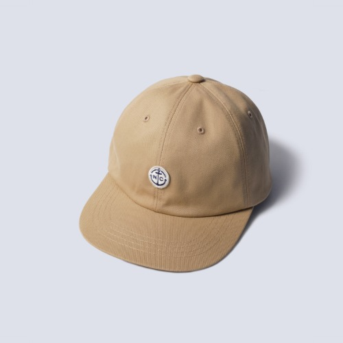 [NAMERCLOTHING] ANCHOR BALL CAP (Beige)