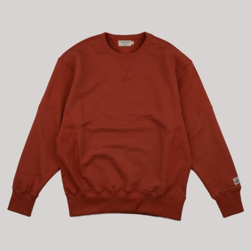 [COLD WARM] Reversible SWEAT SHIRT_Brick
