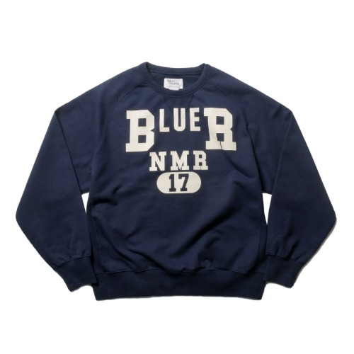 [네이머클로딩] NAMERCLOTHING BLUER NMR SWEATSHIRTS_Navy