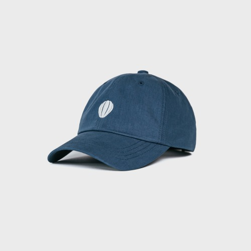 [ANGLAN] Signature Logo Ball Cap-Blue