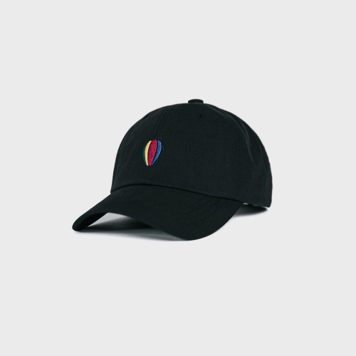 [ANGLAN] Signature Logo Ball Cap-Black
