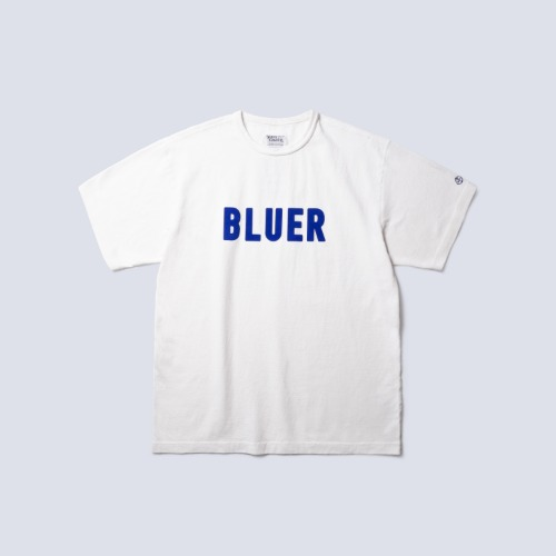 [NAMER CLOTHING] BLUER TEAM T_White
