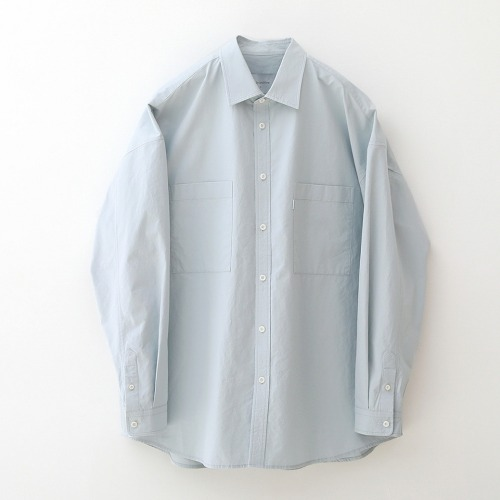 [NODE] Lazy Boy Big Shirt_Powder Blue