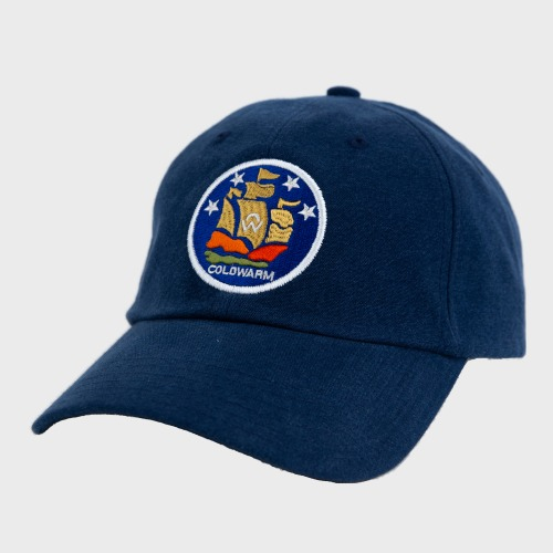 [COLD WARM] COLDWARM EMBLEM BALL CAP_Blue