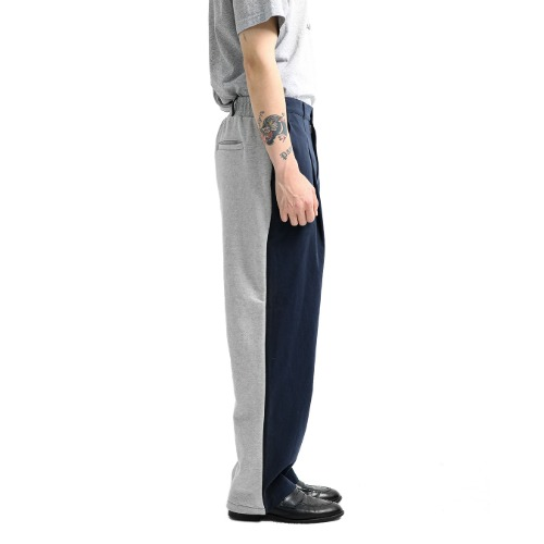 [Paniyakiett] Two-face pants_Navy