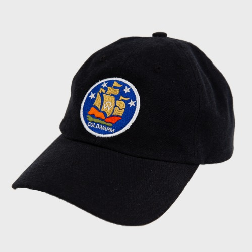 [COLD WARM] COLDWARM EMBLEM BALL CAP_Black