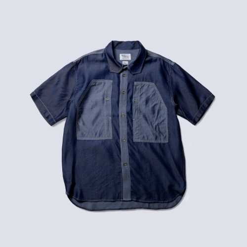 [NAMER CLOTHING] BLUER TENCEL WORK SHIRTS